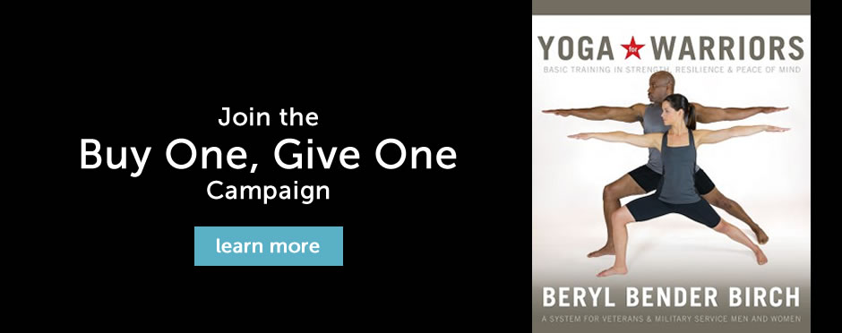 Yoga Warriors: Buy One, Give One Campaign